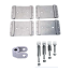 Universal Dinghy Mounting Chocks - Swivel Stanchions