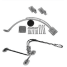 HD-RBD201/202 Heavy Duty, Swim Step Snap Davit Kit for 10-12 ft Inflatables with Motors