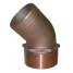 45 Degree Bronze Pipe to Hose Adapters 1