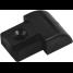 BLK NYL END CAP INSERT 0.85 TRACK