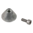 Bow Thruster Aluminum Anode 3