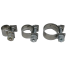 """304 SS """"Micro"""" Solid Band Hose Clamps 2"""