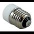 2-Pin LED Bulb to 12-24 Volt E26 Medium Screw Base Adapter 2
