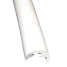Radial Rub Rail - Soft External Cover Only - White 3