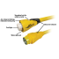 50 Amp 125/250V EEL ShorePower Cordsets - Yellow 7