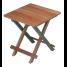 Solid Top Teak Fold-Away Table 1