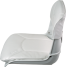 Low Back All-Weather Boat Seat & Cushion Combo - White 3