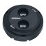 Digital Black Waterproof Switches - Dual-Function with Rotating Guard Top 2