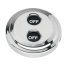Digital Stainless Waterproof Switches - Dual-Function w/ Rotating Guard Top 2