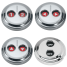 Digital Stainless Waterproof Switches - Dual-Function w/ Rotating Guard Top 1