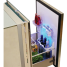 Drawer 130 Stainless Steel Refrigerator with Freezer Compartment 2