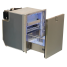 Drawer 130 Stainless Steel Refrigerator with Freezer Compartment 1