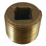 Bronze Countersunk Pipe Plugs