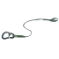 ProLine Tether - 1 Attachment Loop, 1 Safety Snap Hook, Flat Webbing, 0.80m 1