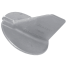 ZINC YAMAHA TRIM TAB COUNTER ROTATION