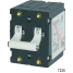 AC/DC Double Pole Circuit Breakers, 15A Black