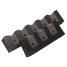 Three Rod Storage Rack