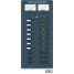 AC Main + 6 Position /DC Main + 15 Positions Circuit Breaker Panel