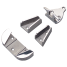 STAINLESS ANCHOR CHOCKS 5-20 LB.