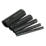 """301503 of Ancor Heat Shrink Tubing - Black, Assorted Sizes 3/16"""" to 3/4"""""""
