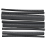 """301506 of Ancor Heat Shrink Tubing - Black, Assorted Sizes 3/16"""" to 3/4"""""""