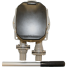 """top view of Bosworth Guzzler 450 Series Thru-Deck Manual Pump - 1-1/8"""" Hose, Up to 10 GPM"""
