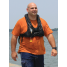 Front View of Man Wearing Crewsaver ErgoFit 40 Pro USCG Automatic Inflatable PFD - with Harness