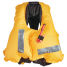 Inflated View of Crewsaver ErgoFit 40 Pro USCG Automatic Inflatable PFD - with Harness
