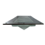 """angle of Davey & Co. Rabetted Stainless Steel Rectangular Deck Prism - 6-1/2"""" x 14-1/2"""" Overall"""