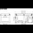 CFX-75DZW Electric Cooler - AC/DC - Dual Zone - Wifi
