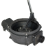 """close up of Edson Marine 30 GPM """"Bone Dry"""" Manual Diaphragm Pumps - Lever Action, Side Inlet"""
