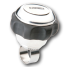 angle of Edson Marine PowerKnob, Stainless Steel - Comfort Grip