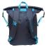 Navy Blue Back View of Geckobrands Waterproof Lightweight Backpack