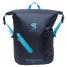 Navy Blue View Front of Geckobrands Waterproof Lightweight Backpack