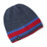 navy of Gill Melange Knit Beanie