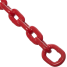 red of Greenfield Products Anchor Lead Chain 5'
