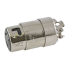 side view of Hubbell 50A 125/250V Female Shore Power Cordset Connector