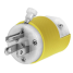 hbl52cm80c of Hubbell 15 Amp Straight Blade Shore Power Plugs