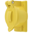 closed view of Hubbell Marine Grade Outlet Lift Cover Plate