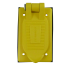 closed of Hubbell Weatherproof Lift Cover for Duplex Receptacles - Box Mount