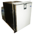 White Ice Maker - Low Profile, Stainless Steel, AC Only, Flush Mount, Side View
