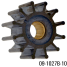 09-1027B-10 of Johnson Pumps Flexible Impellers - MC97, Nitrile & Neoprene