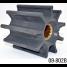 09-802B of Johnson Pumps Flexible Impellers - MC97, Nitrile & Neoprene