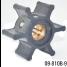 09-810B-9 of Johnson Pumps Flexible Impellers - MC97, Nitrile & Neoprene