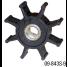09-843S-9 of Johnson Pumps Flexible Impellers - MC97, Nitrile & Neoprene