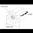 diagram of Johnson Pumps Flexible Impellers - MC97, Nitrile & Neoprene