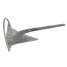 m1 top of Mantus Anchors M1 Mantus Anchor - Galvanized
