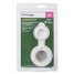 In Packaging View of Marinco White 15 Amp 125V On-Board Charger Inlet - Front Mount