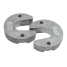 front view of Martyr Mercruiser Anodes - Aluminum