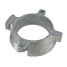 angle view of Martyr Inboard/Outboard Anodes - Zinc - Alpha Bearing Carrier